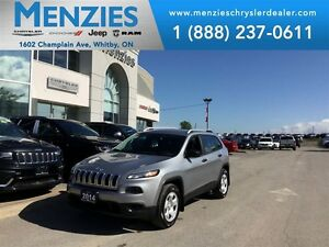 2014 Jeep Cherokee Sport, 4x4, Bluetooth, Backup Cam, Clean Carp