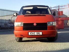 VW T4 2.4D, long MOT, solid, many new parts, may swap, px, classic etc