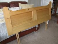 Pine Bed Headboard