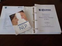 Diploma in CBT (Cognitive Behavioural therapy) + NLP Book