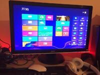 Dell 24 inch HD LCD Monitor