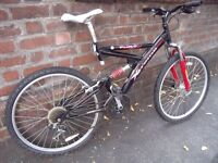 Xtreme and Pro Full Suspension Mountain Bike