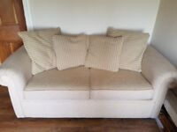 Sofa Bed - Cream colour Excellent condition RRP £600