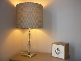 Lamp with shade in vgc £15