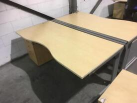 Office desk 1800mm x 900mm with cable management 12 available