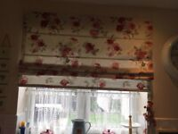 Next Roman Blind in Vintage Rose. Great condition.