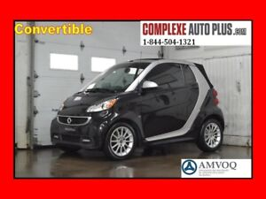 2013 Smart fortwo Passion Cabriolet Convertible