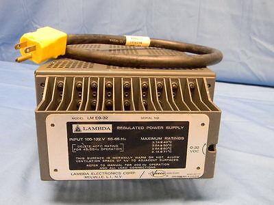 Lambda Lm Eo-32 Modular Dc Power Supply 0-32v 3.7a Tested
