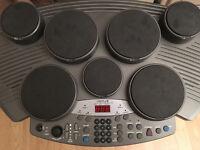 Drum Machine / 7 Pad with 2 sticks & 1 pedal
