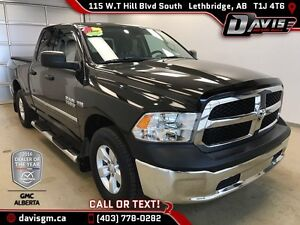 Used 2014 Ram 1500-40/20/40 Bench Seat, 6ft Cargo Box