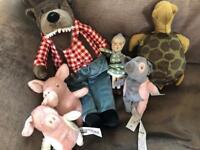 3little pigs stuffed toys Ikea