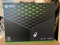 Xbox Series X Console - new and sealed
