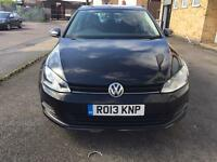 Volkswagen Golf 1.6 TDI S Bluemotion Tech Diesel 2013/13 Reg Zero Road Tax Finance Available £7999