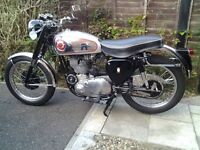 BSA GOLDSTAR 500cc 1954