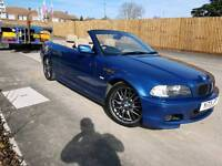 Bmw 330ci m sport convertible manual with 1 years warranty