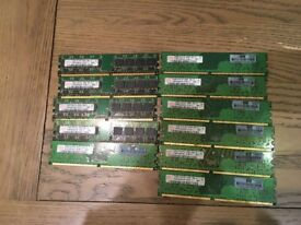 Bargain: Eleven 512mb & One 1gb of RAM ( Forsale)
