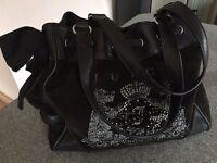 Juicy Couture velour daydreamer handbag