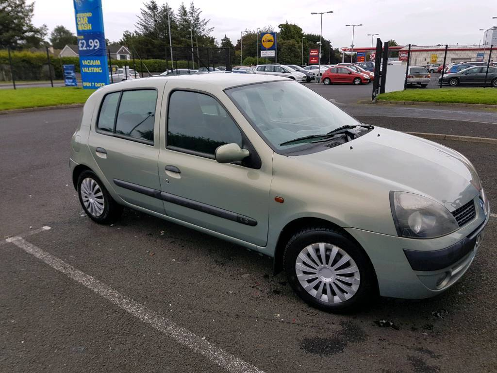 renault clio 2002 in londonderry county londonderry gumtree. Black Bedroom Furniture Sets. Home Design Ideas