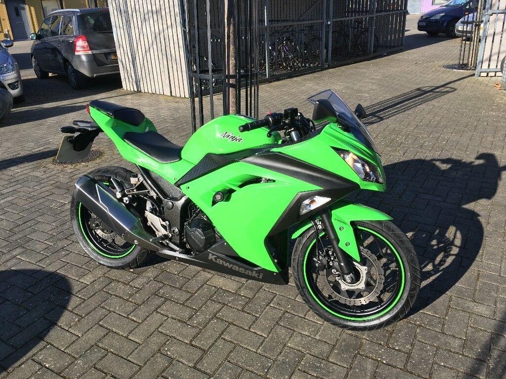 Kawasaki Ninja 300 Abs 3500 Miles Rg Frame Slider Full