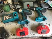 2 makita drills