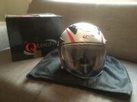 QTech Open Face Motorcycle helmet XS