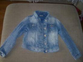 Girls Next denim jacket aged 9