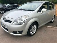 2007 57 Corolla Verso 7 Seater People Carrier *NEW MOT*