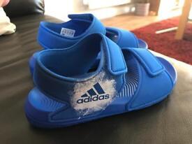 Boys Size 12 Adidas swim sandals