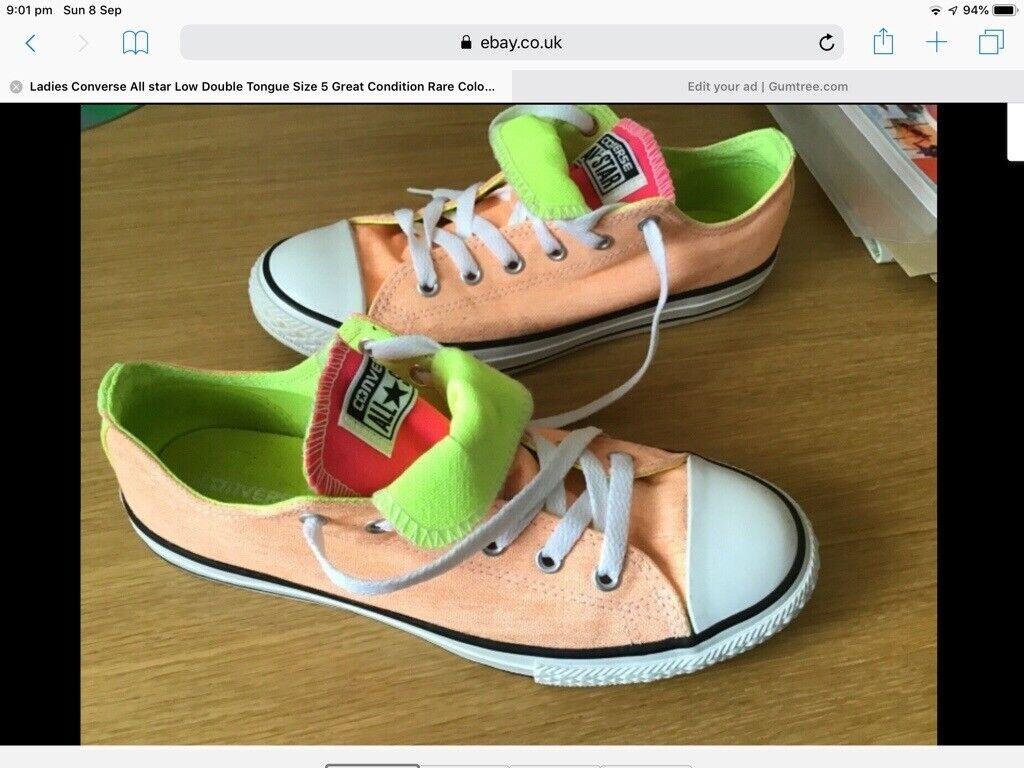 tanie jak barszcz nowe wydanie online tutaj Converse All Star Size 5 UK Rare Colour Bought In USA   in Livingston, West  Lothian   Gumtree