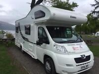 Motorhome Hire 6 berth from £600pw