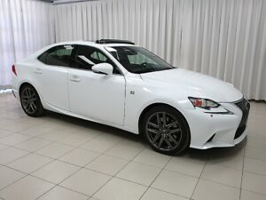 2015 Lexus IS 350 IS350 F SPORT SERIES 2 AWD LUXURY SEDAN