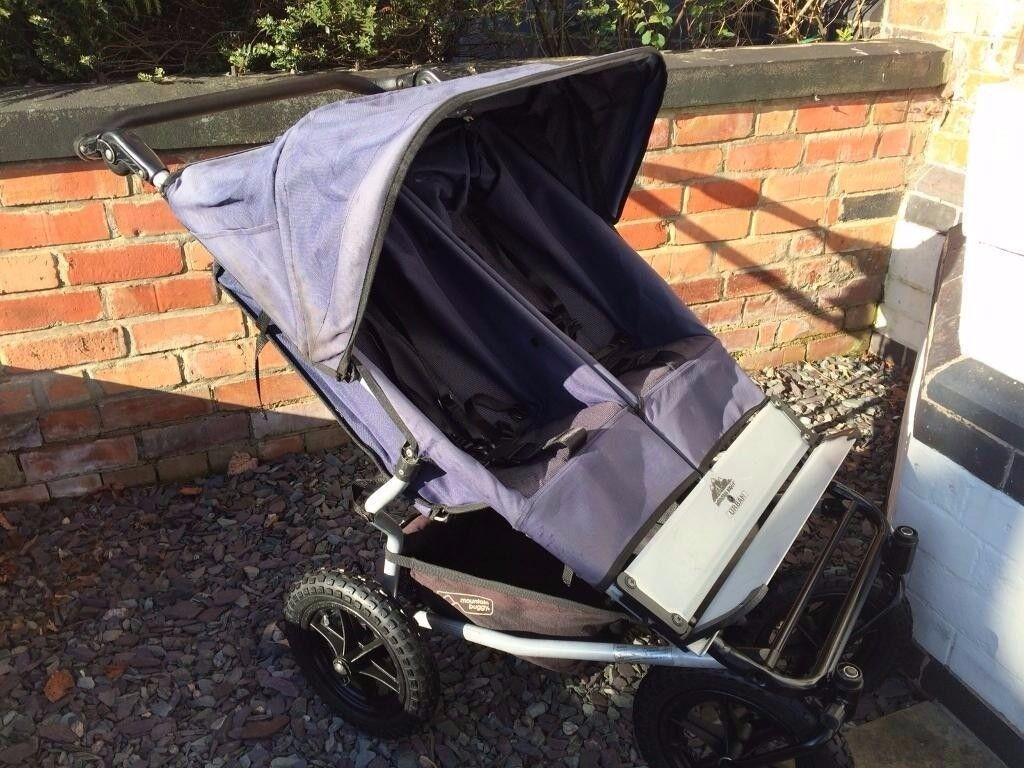 Mountain Buggy Double Pushchair