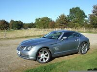 Modern appreciating Classic Car. Chrysler Crossfire Coupe 3.2 ltr Merc V6 215 bhp. 6 speed manual.