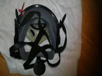 Asbestos full face mask