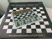Drinking game - draughts/chess