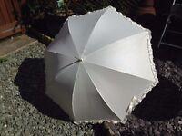 Ivory Bridal Umbrella