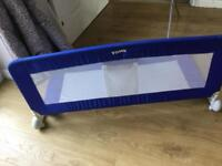 Blue Tomy bed gurard