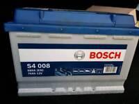 Bosch Car battery (Euro car parts)