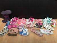 Girl shoes infant size 4/5