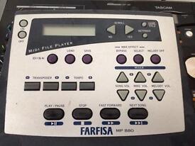 Farfisa midi file player MP880