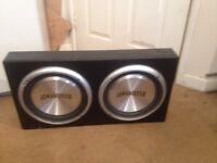 12 inch 1200Watts Armageddon Subwoofer speakers