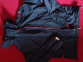Boys black Superdry jacket - great for back to school.