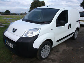 Peugeot Bipper 2013 13 Plate, Low mileage, Immaculate condition