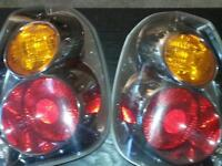 Nissan Altima 02 tail lights