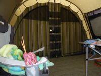 Outsell Montana Lake Canvas Tent and fleece carpet