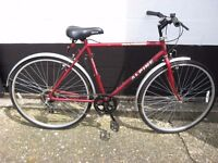 Lovely pair of mens & womans bikes plus accesories