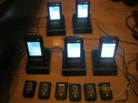 9 x Bluebird Pidion BIP-6000 Configurable Outdoor PDA - Rugged Hand Held Computer rrp £1499