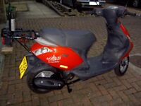 Piaggio Zip 100cc Scooter low mileage (8900 km) + rear carrier ,overall good condition for year.