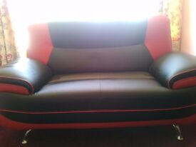 Two 2 seat sofas immaculate condition