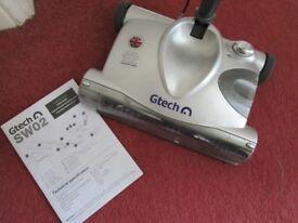 G Tech SW02 Cordless Carpet Sweeper